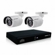 Full HD 720p 08 Channel Jovision DVR With 08 Units Full HD Hikvision Camera (O)